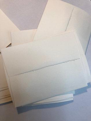 25 Vintage Ivory A2 envelopes