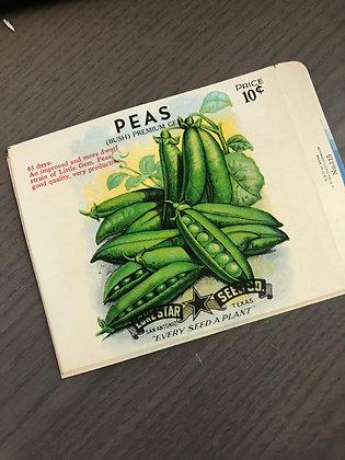 PEAS Vintage Seed packs