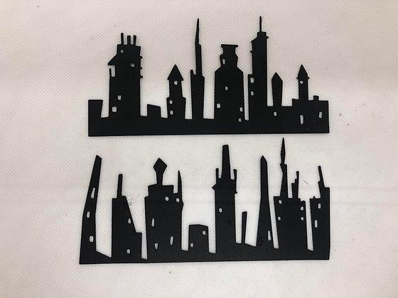 Cityskape Skyline Ephemera - Set of 10