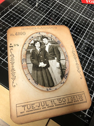 Vintage inspired Cards