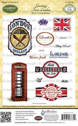 Greetings From London - Just Rite Stamps
