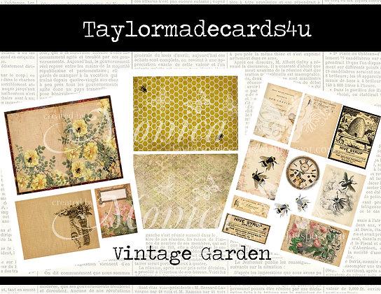 Vintage Garden - Digital Kit