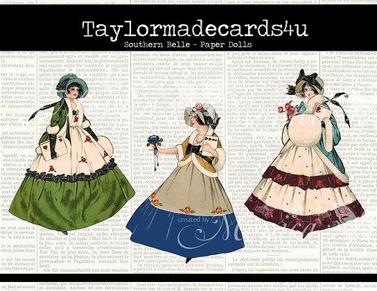 Southern Belles - Paper Dolls