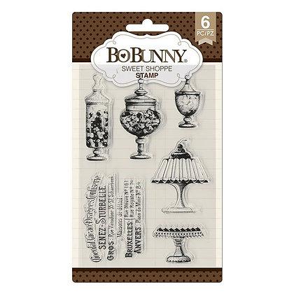 BoBunny Acrylic Stamp Set - Sweet Shoppe