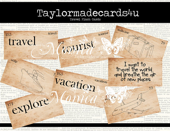 Travel Flash Cards