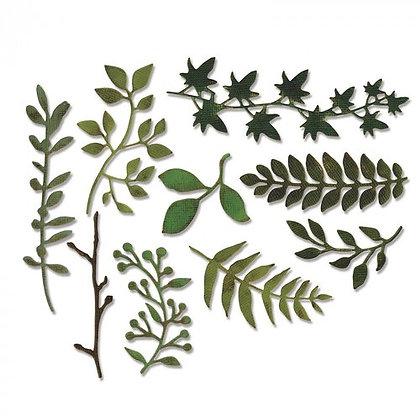 Sizzix - Tim Holtz - Garden Greens thinlets 661206