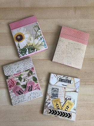 Pocket envelope cards