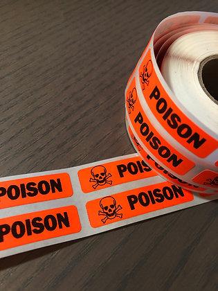 30 Poison Stickers