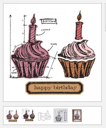 Birthday Blueprint Stampers Anonymous   By Tim Holtz