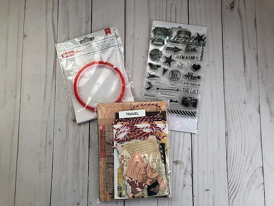 Travel Journal Kit, Photo book, Journal Kit