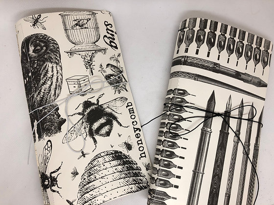 Black and White Writing Journal