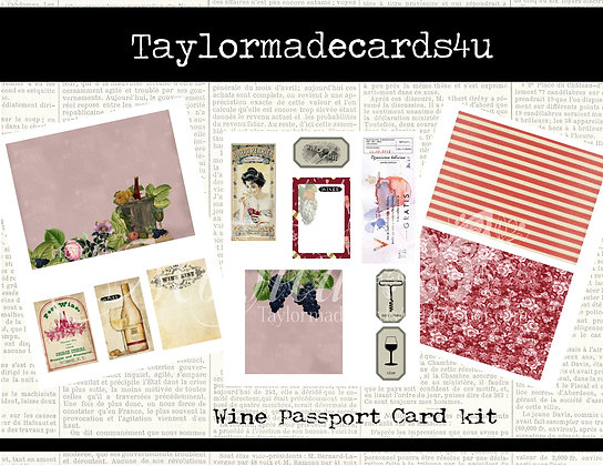 Wine Passport Kit - Digital Kit