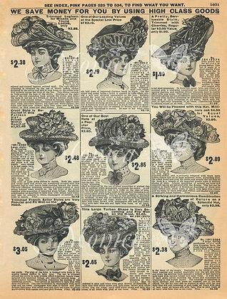 Vintage Ladies Advertisement 1