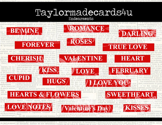 Valentine Endearments