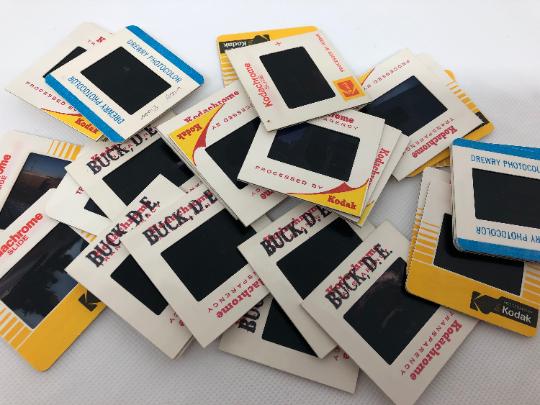 Kodachrome Slides - Variety set of 30