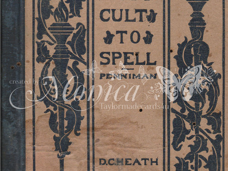 Vintage Spelling Book Cover