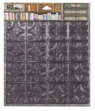 7 Gypsies Architextures™ Tin Tile - Onyx