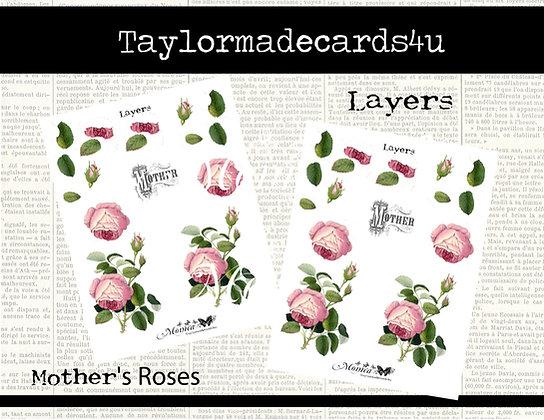 Rose Layers - 3D Digital flower set