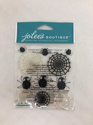JOLEE'S BOUTIQUE Spider Stickers