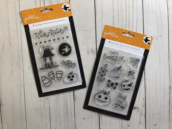 Halloween Stamps - Pebbles Inc