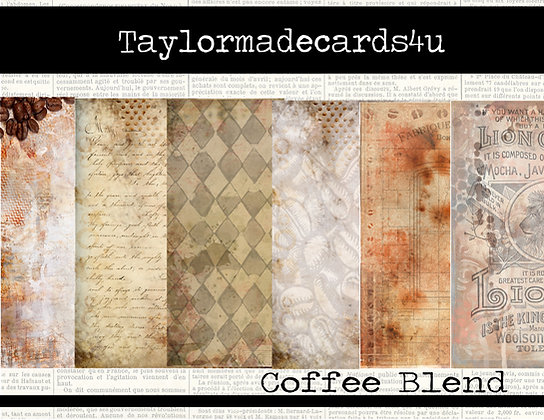 Coffee Blends - Paper pack