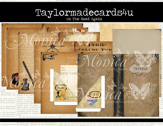 Travel Journal Digital Kit