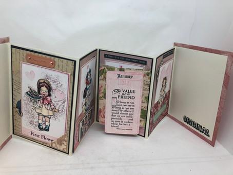 Valentine Card Journal