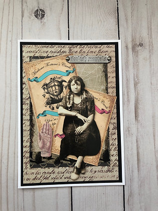 Gypsy Halloween Card