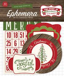 Echo Park - The Story of Christmas - Ephemera pack