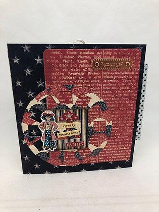 Red, White & Blue Journal Embellishment kit