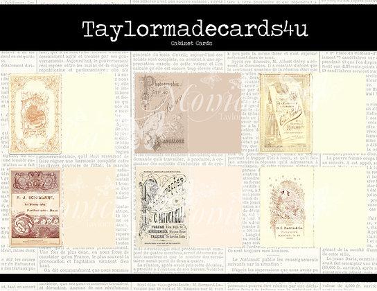 Cabinet Card Set