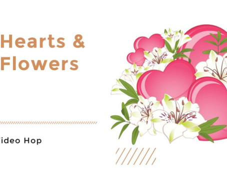 Hearts & Flowers Valentine Hop