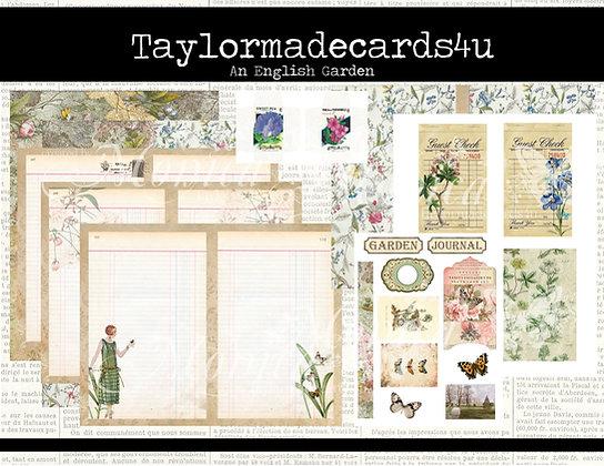 An English Garden Bundle - Digital Kit