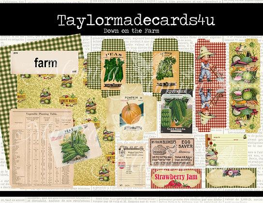 Down on the Farm - Digital Kit