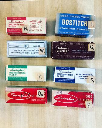 Vintage Staples in Original Box