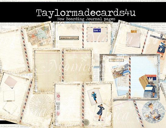 Now Boarding - Journal bundle