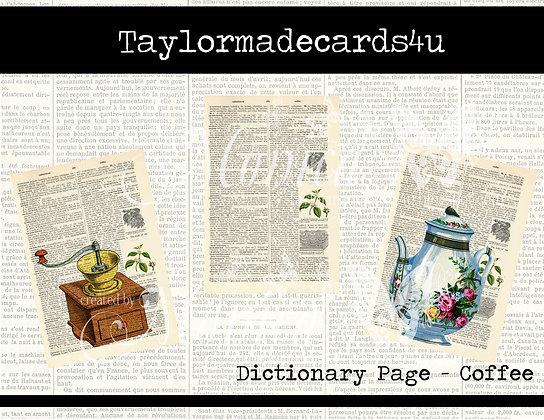 Members Special - Dictionary Digital Art - Coffee