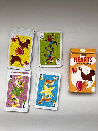 1964 Vintage Children's Hearts Card Game