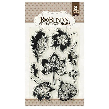 BoBunny Acrylic Stamp Set - Falling Leaves