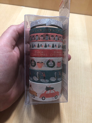 Christmasl Washi Tape - American Craft Merry Days