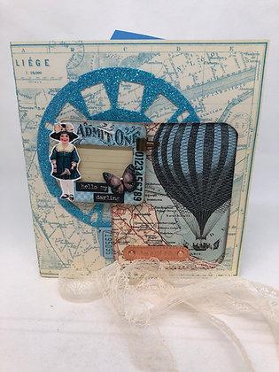 Hot Air Balloon Embellishment kit