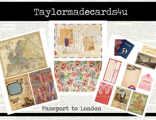 Passport to London  - Digital Kit