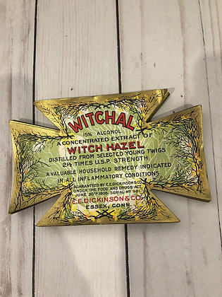1910s Witchal Witch Hazel Lithograph Label