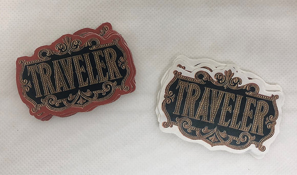 Set of 12 Traveler Labels - Reproductions