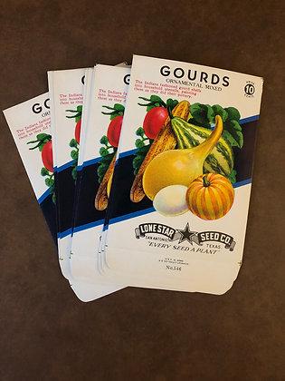 Gourds Vintage Seed packs