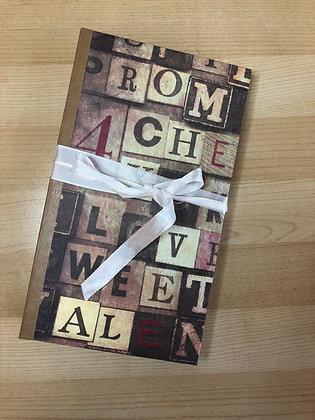 Vintage Romance Journal book