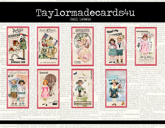 Doll Labels