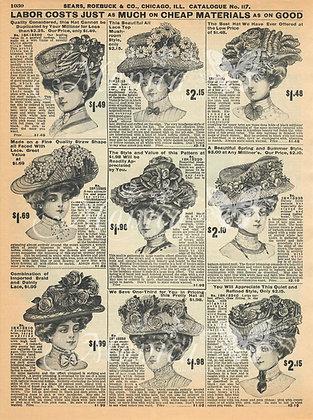 Vintage Ladies Advertisement 2