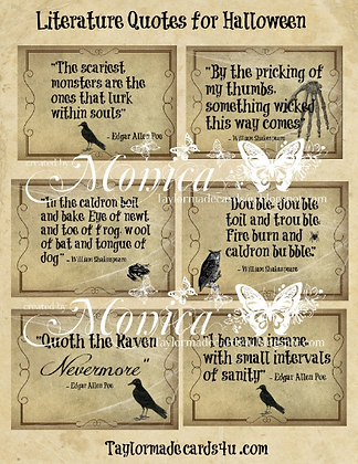 Halloween - Literature Quotes