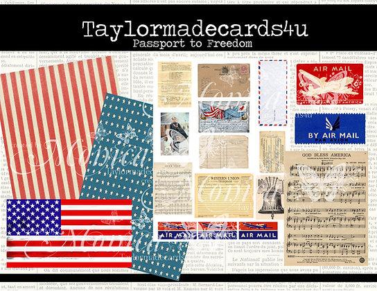 Passport to Freedom - Digital Kit